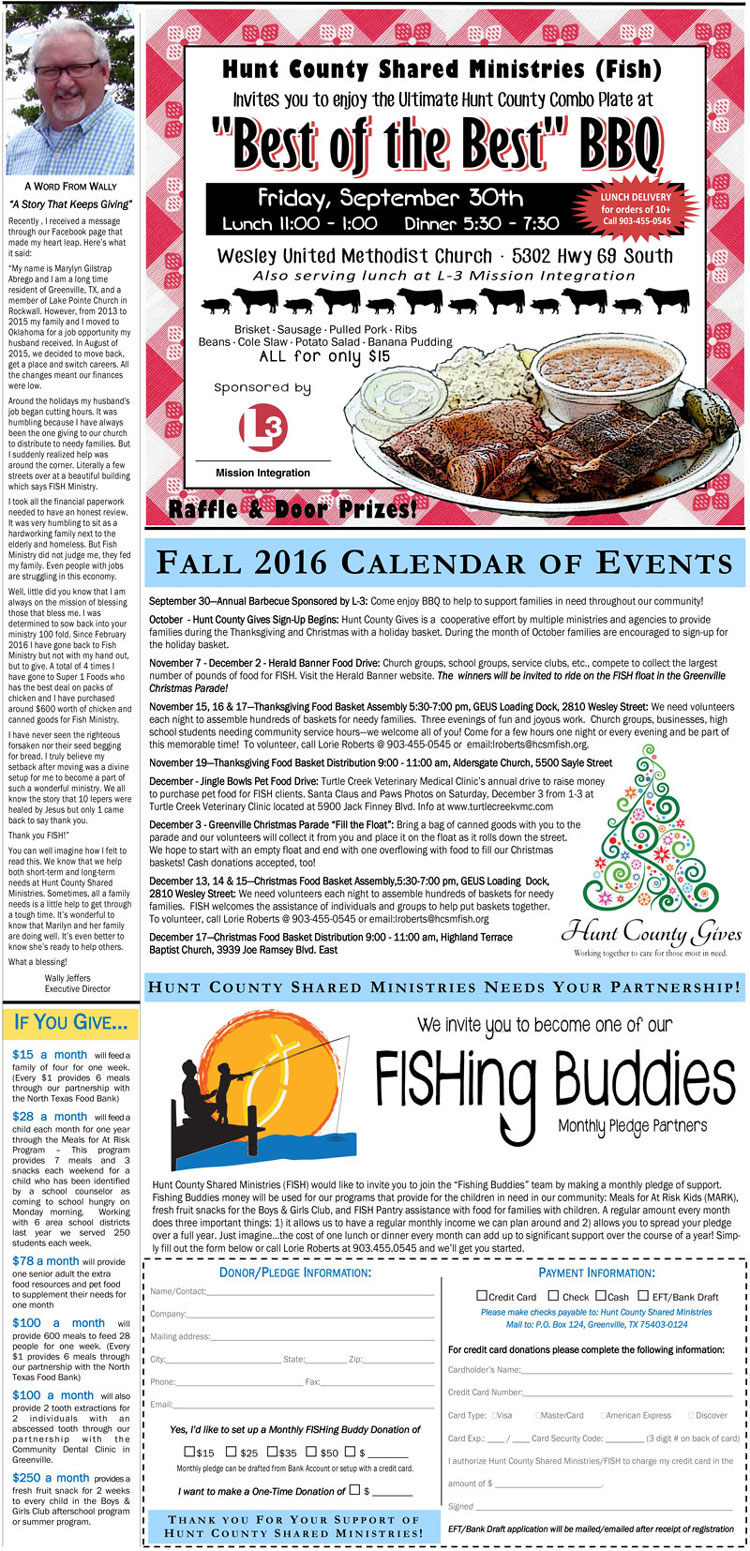 2016 Newsletter Back Page